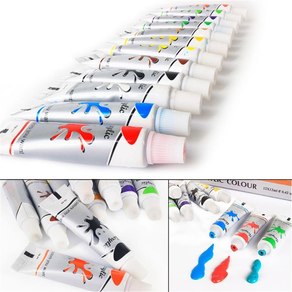 watercolor-paints 12 Colors Professional Watercolor Paint Set Brightly Pigment Color Painting Art Supplies HOB1704516 3 1