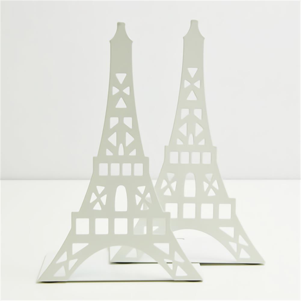 folder-file-pocket, filing Bookend Fashion Eiffel Tower Design Bookshelf Large Metal Bookend Desk Holder Stand for Books Organizer Gift Stationery HOB1705090 1 1