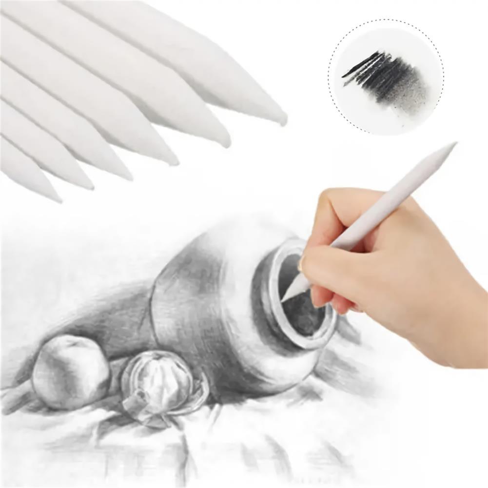 art-kit 6Pcs/Set Sketch Paper Pen Blending Stump Marker Paper Sketch Art Painting Supplies Drawing Pencils for Premium Art Lovers HOB1705142 1