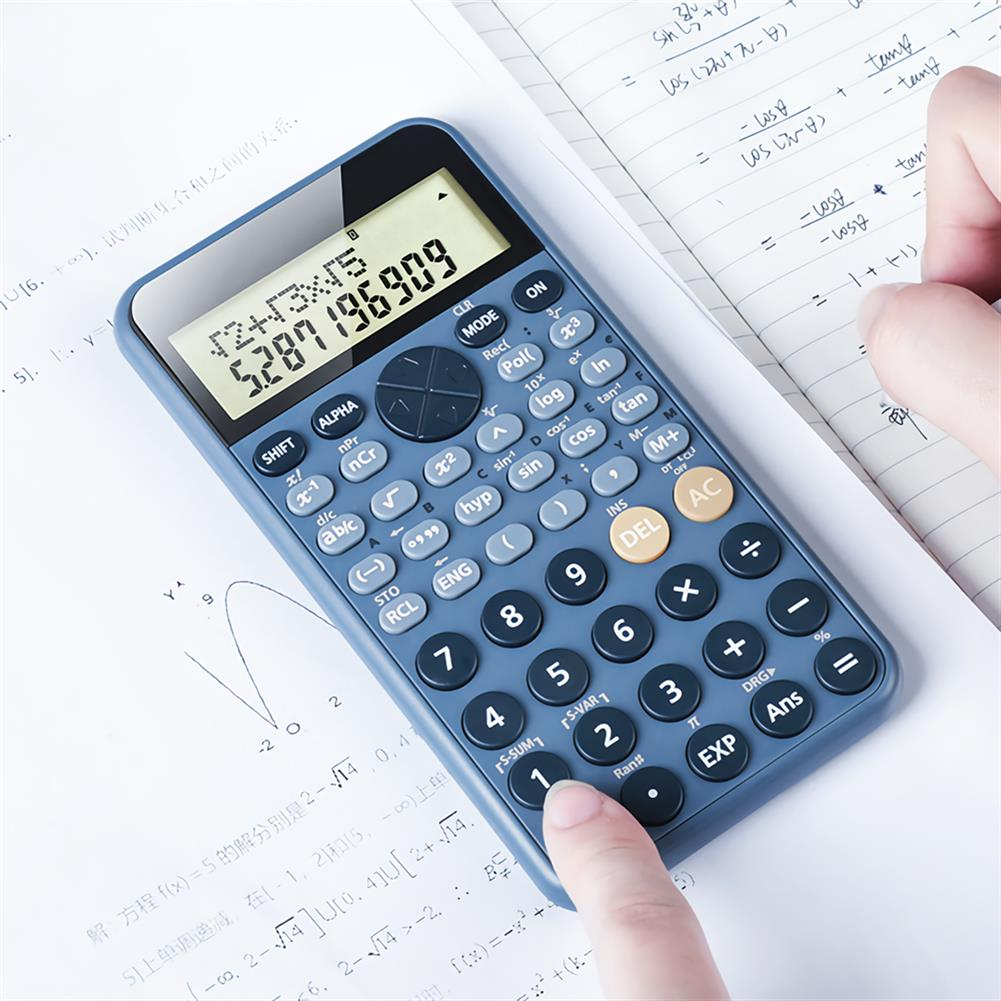 calculator PN-2891 Scientific Calculator 240 Calculation Methods Calculating Tool for School office Supplies Exam Supplies Scientific Function Calculator HOB1705544 2 1