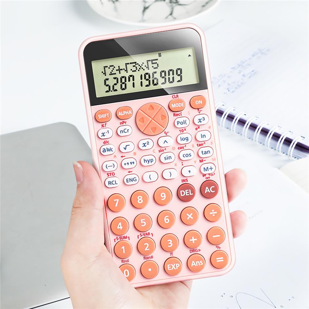 calculator PN-2891 Scientific Calculator 240 Calculation Methods Calculating Tool for School office Supplies Exam Supplies Scientific Function Calculator HOB1705544 3 1