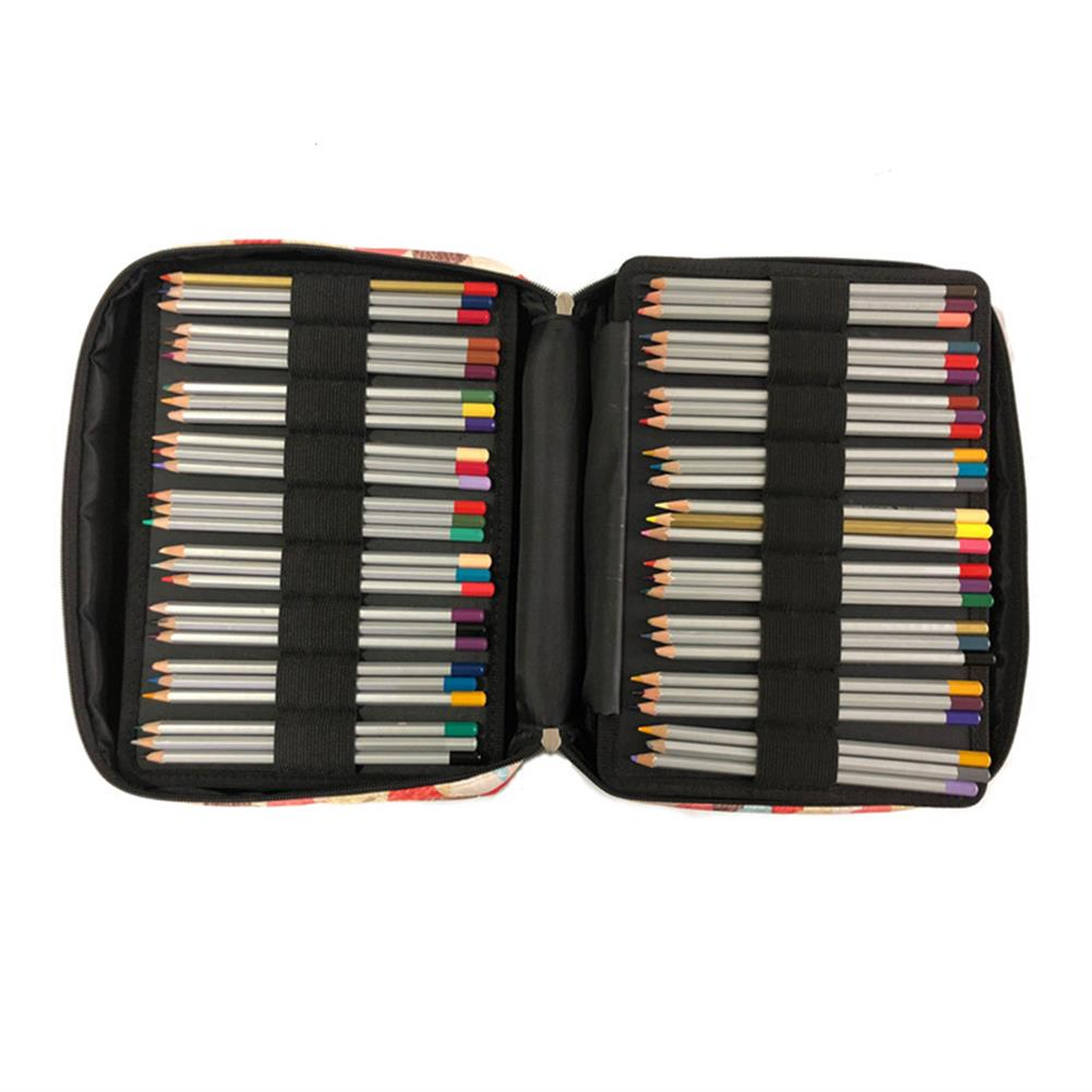 pencil-case Pencil Bag Solid Color Oxford Cloth Large Capacity Pencil Case Sketch Pencil Color Storage Bag Stationery Bag School office Supplies HOB1706124 1 1