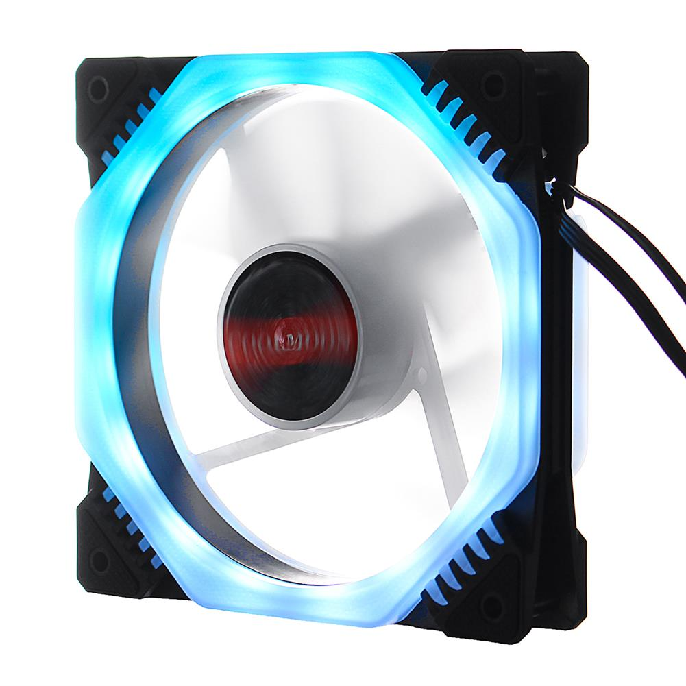 fans-cooling C47346 RGB PC Cooling Fan 1400 RPM 4.2W RGB Symphony cooling fan with the Remote Control HOB1707240 2 1