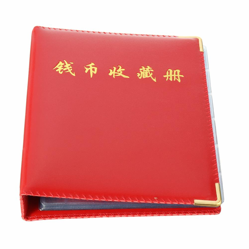 paper-notebooks 480 Units Coin Album for Coins Collection Book Home Decoration Photo Brochure Decor Gifts Supplies HOB1707626 2 1