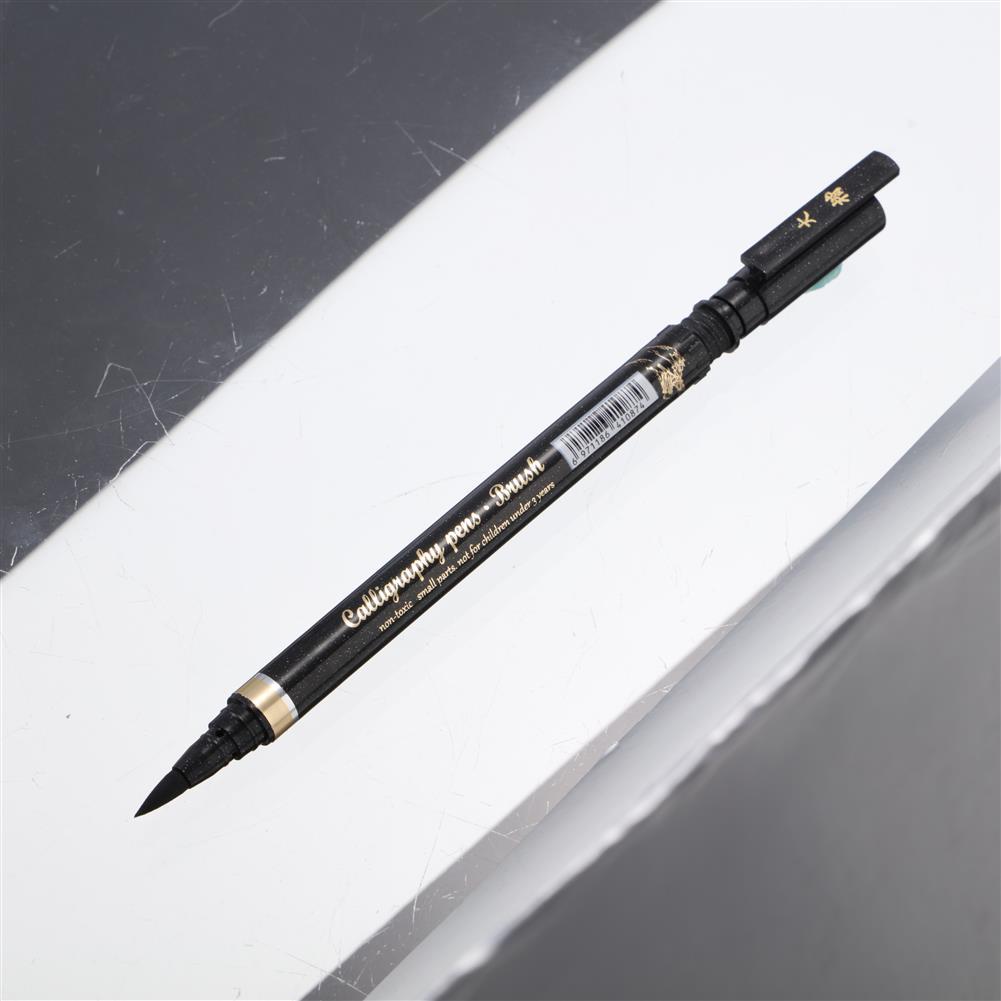 writing-brush 10Pcs/set Calligraphy Pens 4 Sizes Calligraphy Ballpoint Pen Markers Calligraphy Ballpoint Pen for Beginners Journal Writing Signature HOB1708005 1 1