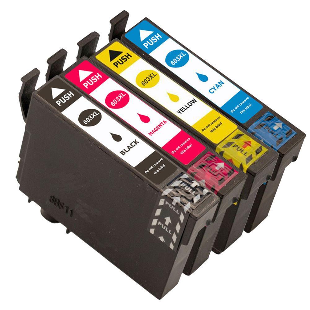printer-ink-toner T603XL XP-2100/XP-2105 XP-3100 Full ink Cartridges BK 14ML CL 13.5ML Compatible for EPSON Printer HOB1709671 1