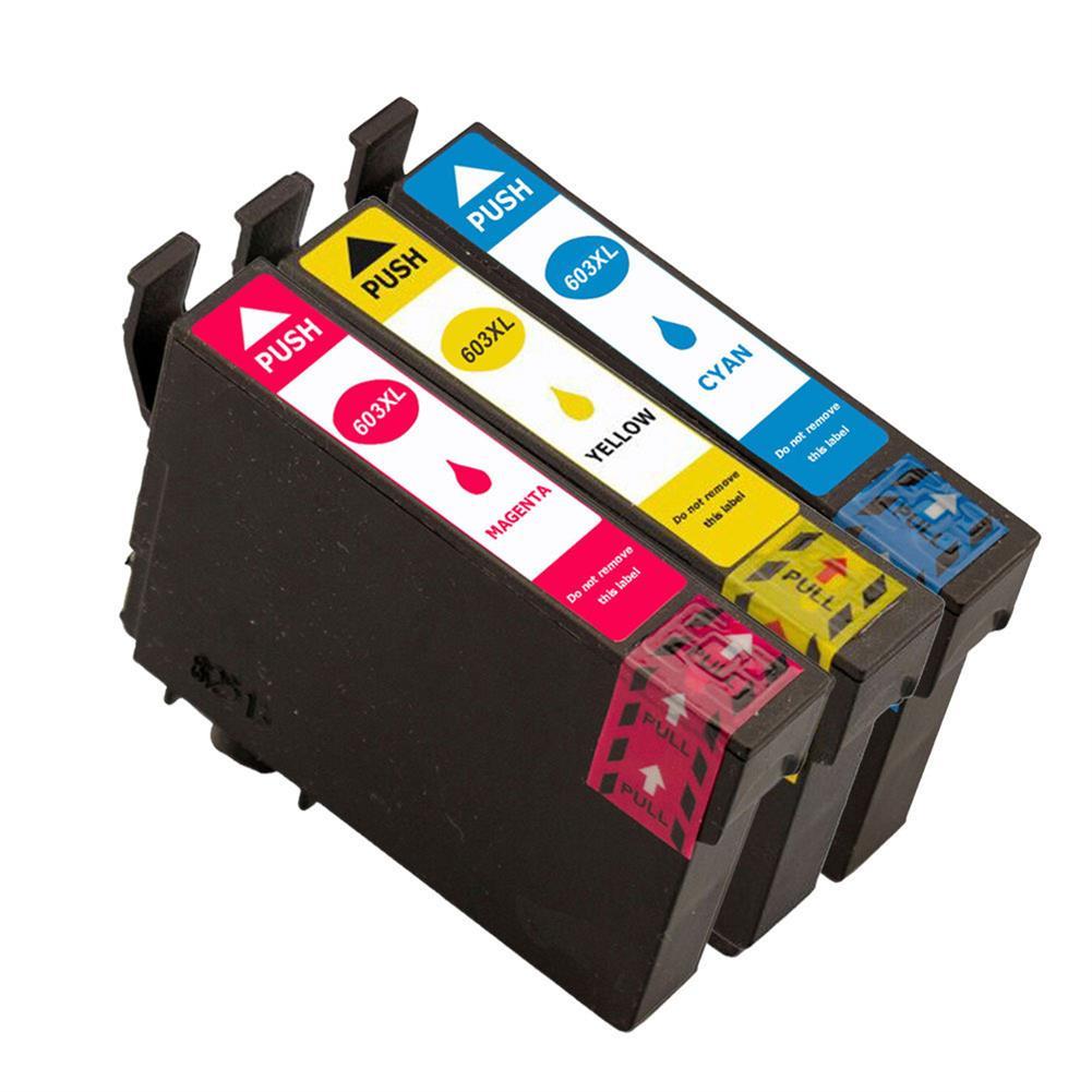 printer-ink-toner T603XL XP-2100/XP-2105 XP-3100 Full ink Cartridges BK 14ML CL 13.5ML Compatible for EPSON Printer HOB1709671 1 1