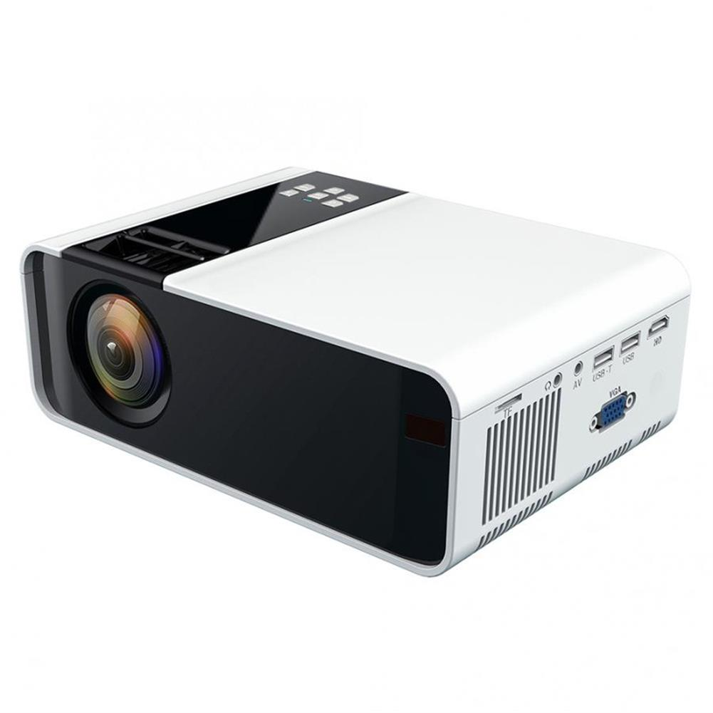 projectors-theaters W10 LCD Projector 2800 Lumens 720P Android WiFi Bluetooth Projector 3D Video Movie Mini Portable Home theater HOB1710499 1
