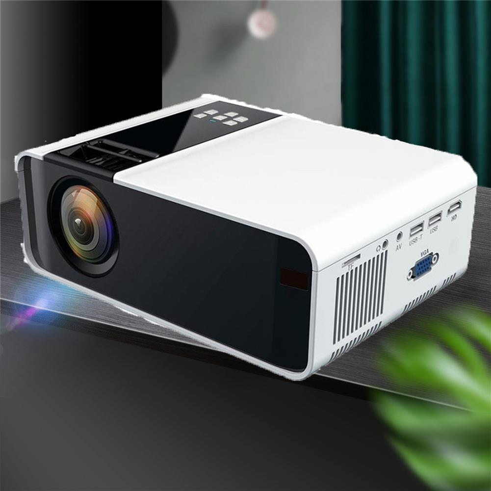 projectors-theaters W10 LCD Projector 2800 Lumens 720P Android WiFi Bluetooth Projector 3D Video Movie Mini Portable Home theater HOB1710499 2 1