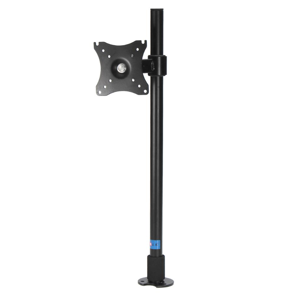 desktop-off-surface-shelves Monitor Stand Double Arm Adjustable Monitor Mount Desktop Computer Stand Bracket 360 Degrees Rotating for 14- 27 inch Computer HOB1710801 1 1