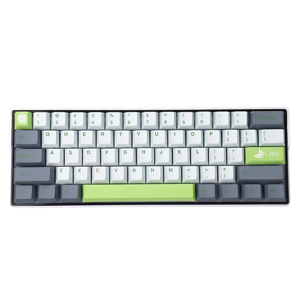 keycaps-switches MechZone 108 Keys Lime Keycap Set OEM Profile PBT Keycaps for 61/68/87/104/108 Keys Mechanical Keyboards Comes with 4 Replacement Keycaps HOB1710834 1
