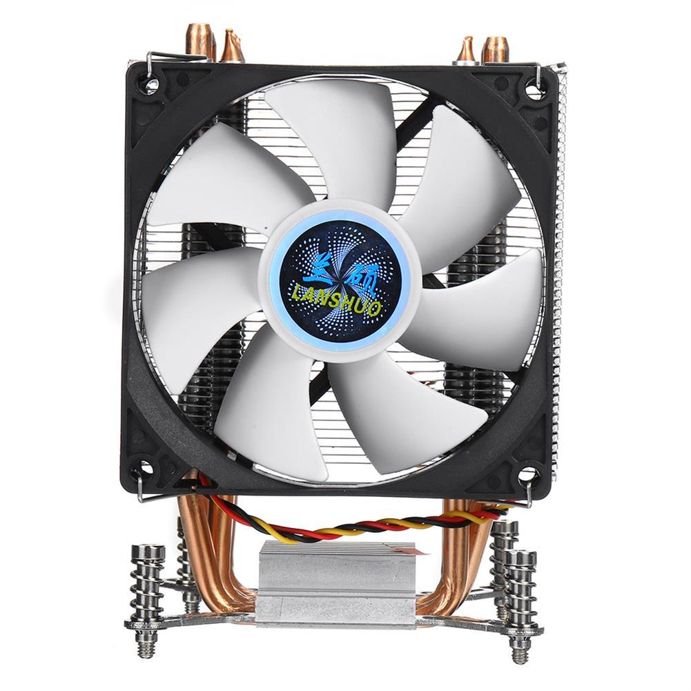 fans-cooling CPU Cooler 4 Copper Heatpipe Cooler Cooling Fan 90mm 3Pin CPU Cooler Fan Cooling Heatsink Radiator for intel LGA 2011 X79 X99 299 HOB1711914 1