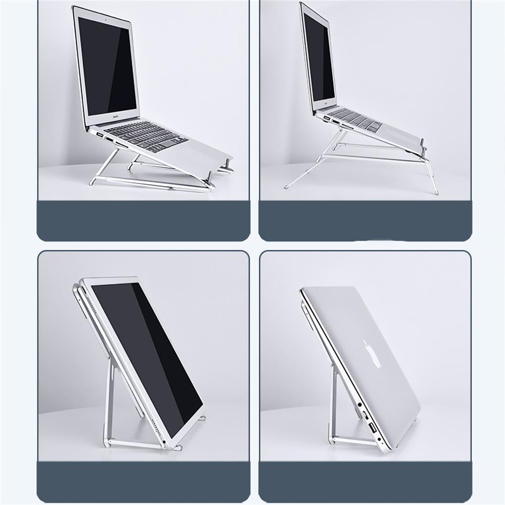 laptop-stands Oatsbasf Laptop Stand Foldable Portable Height Adjustable Eye-Level Ergonomic Notebook Laptop Bracket for Notebook Laptop HOB1713477 1 1