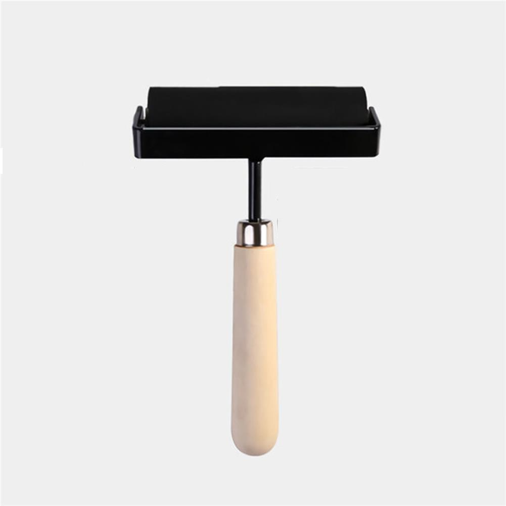 brush 1.5/3/4 inch ink Rubber Roller Printing Artists Art Roller Painting Craft Tool Paint Tool Stationery Painting Supplies HOB1716604 2 1
