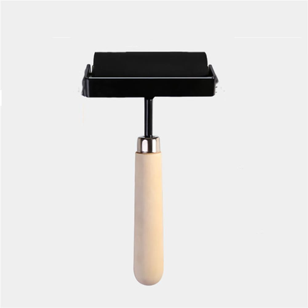 brush 1.5/3/4 inch ink Rubber Roller Printing Artists Art Roller Painting Craft Tool Paint Tool Stationery Painting Supplies HOB1716604 3 1