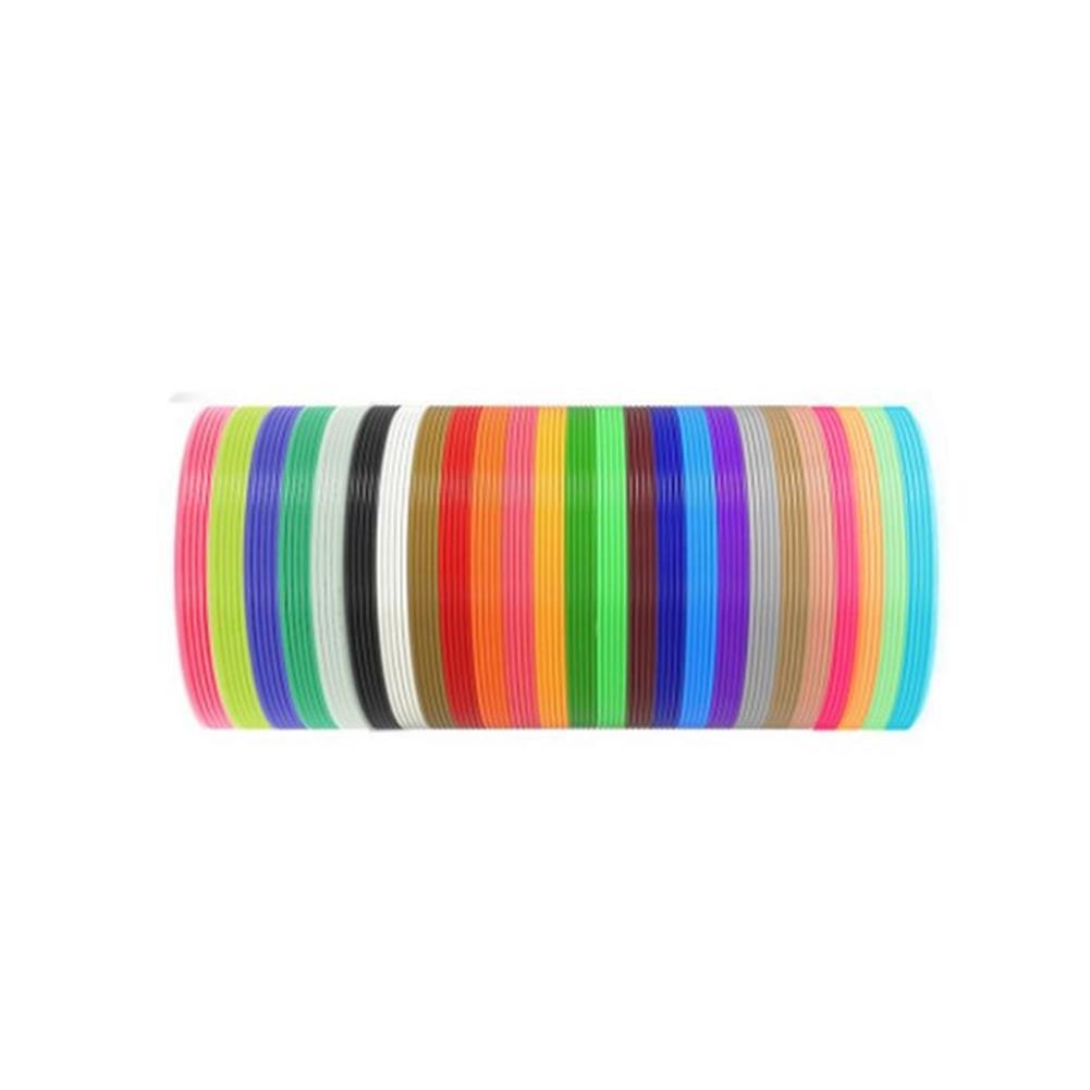 3d-printer-filament SIMAX3D 20Pcs 10m/roll Random Color PCL Filament kit for 3D Printing Pen HOB1717276 1