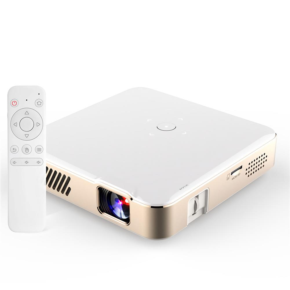 projectors-theaters [Android 7.1] Aome S300 LED Projector 2000 ANSI Lumens 1920x1080 DPI Wifi 150 inch Wireless Same Screen Home theater Projector with Remote Control HOB1718023 3 1
