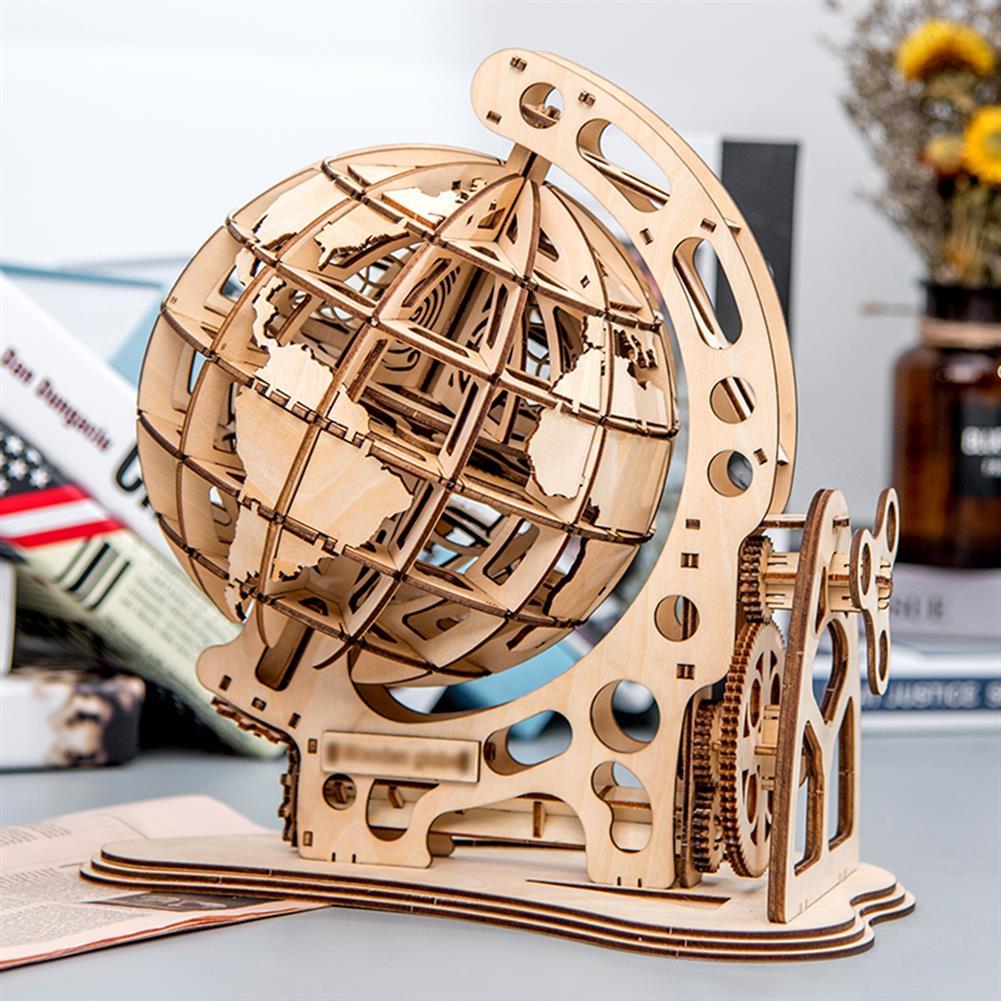 desktop-off-surface-shelves 3D Wooden Globe Puzzle Assembly Model Laser Cutting DIY Toys Wood Craft Desk Decor HOB1718862 1 1