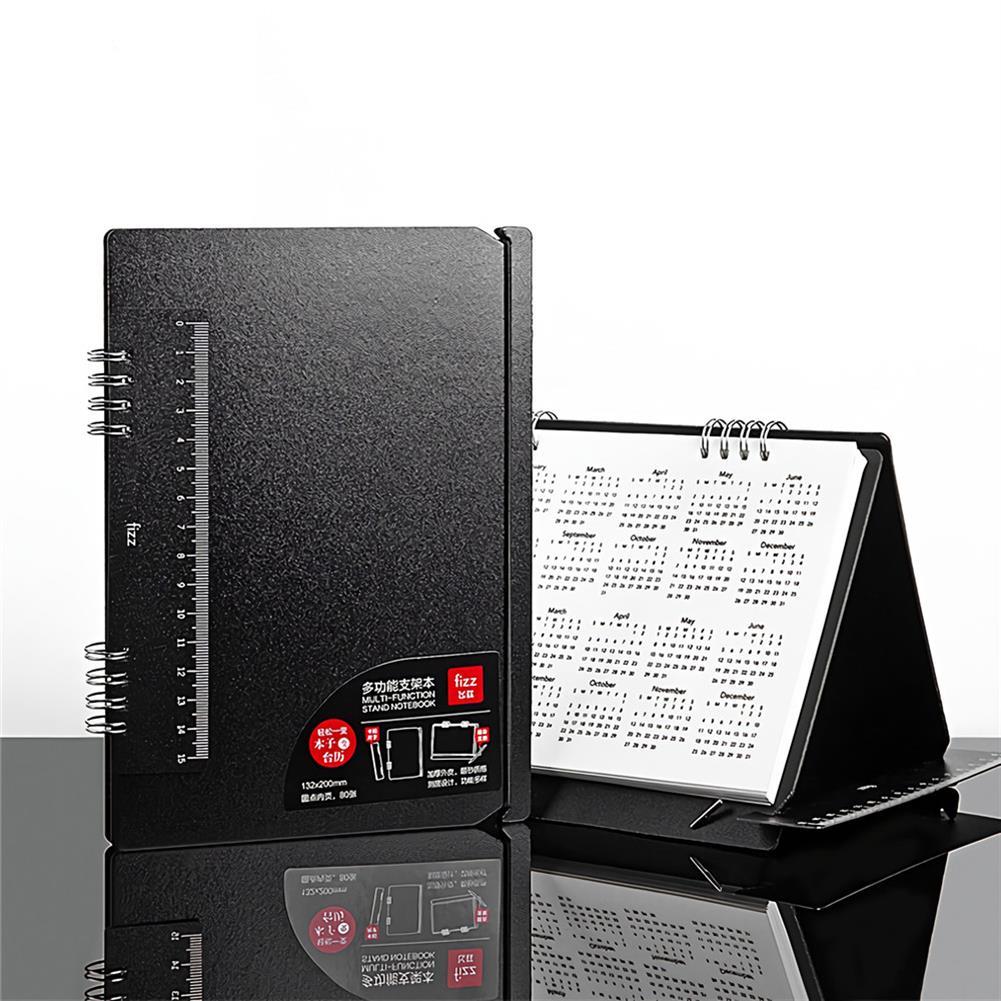 paper-notebooks 2021 Multi Functional Planning Book Schedule Notebook Calendar Desktop Paper Business office School Supplies Multifunctional Bracket with Ruler HOB1720076 1