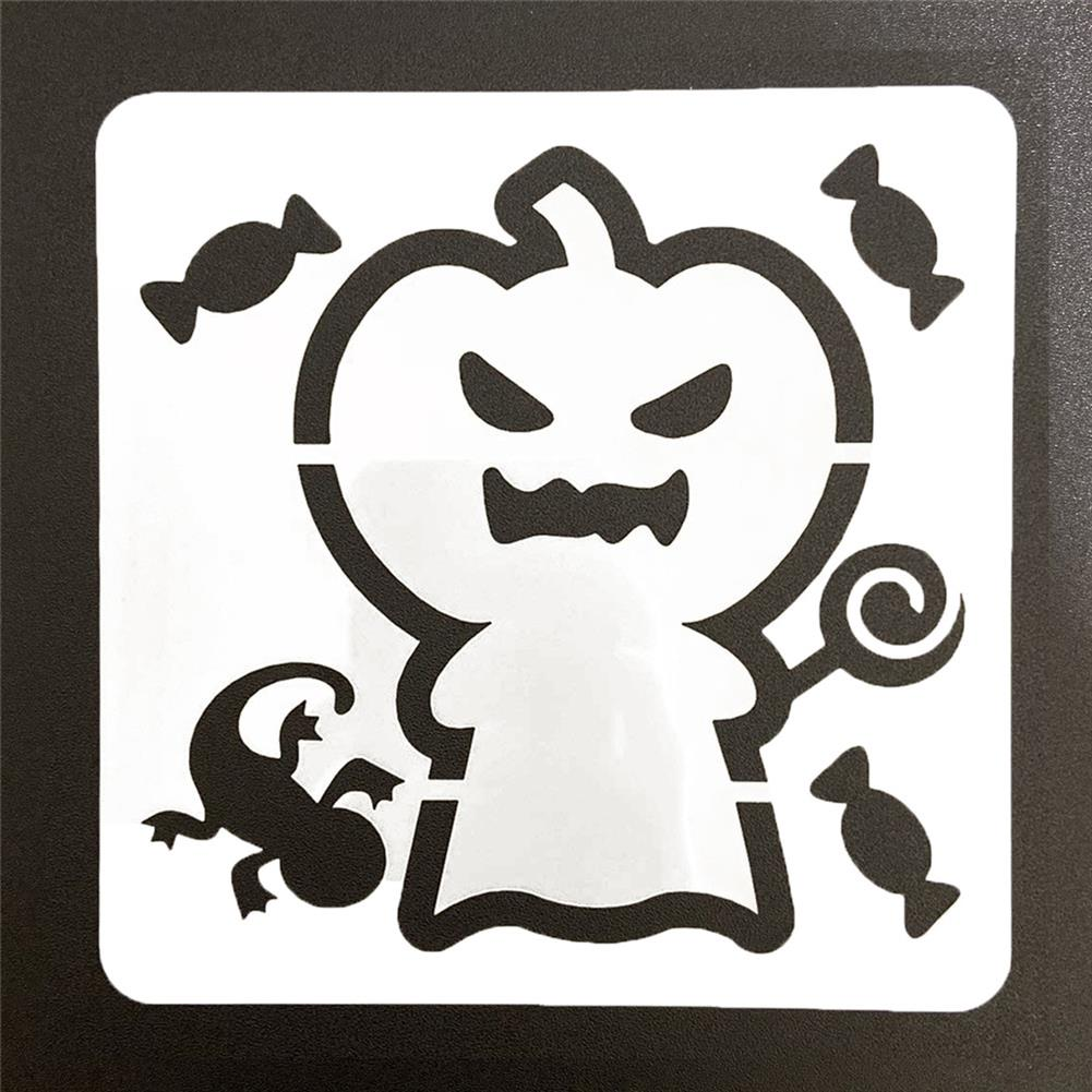 art-kit 28pcs DIY Halloween Hollowed Out Template Painting Set Happy Hollowed Drawing Decoration Wall Painting for Adults Kids HOB1720995 2 1