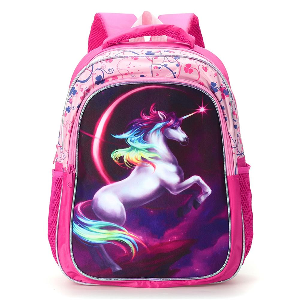 other-learning-office-supplies Backpack 12/14/16 inch Horse-Design Multipurpose Travel Accessories Daypack Casual Schoolbag for Girls HOB1721364 1