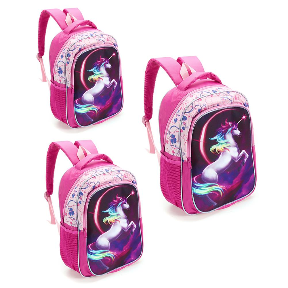 other-learning-office-supplies Backpack 12/14/16 inch Horse-Design Multipurpose Travel Accessories Daypack Casual Schoolbag for Girls HOB1721364 1 1