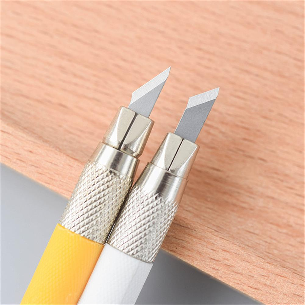 utility-knife Metal Carving Utility Knife Student Non-Slip Engraving Hobby Stationery Utility Knife Stationery School Art Supplies Tools HOB1722733 2 1