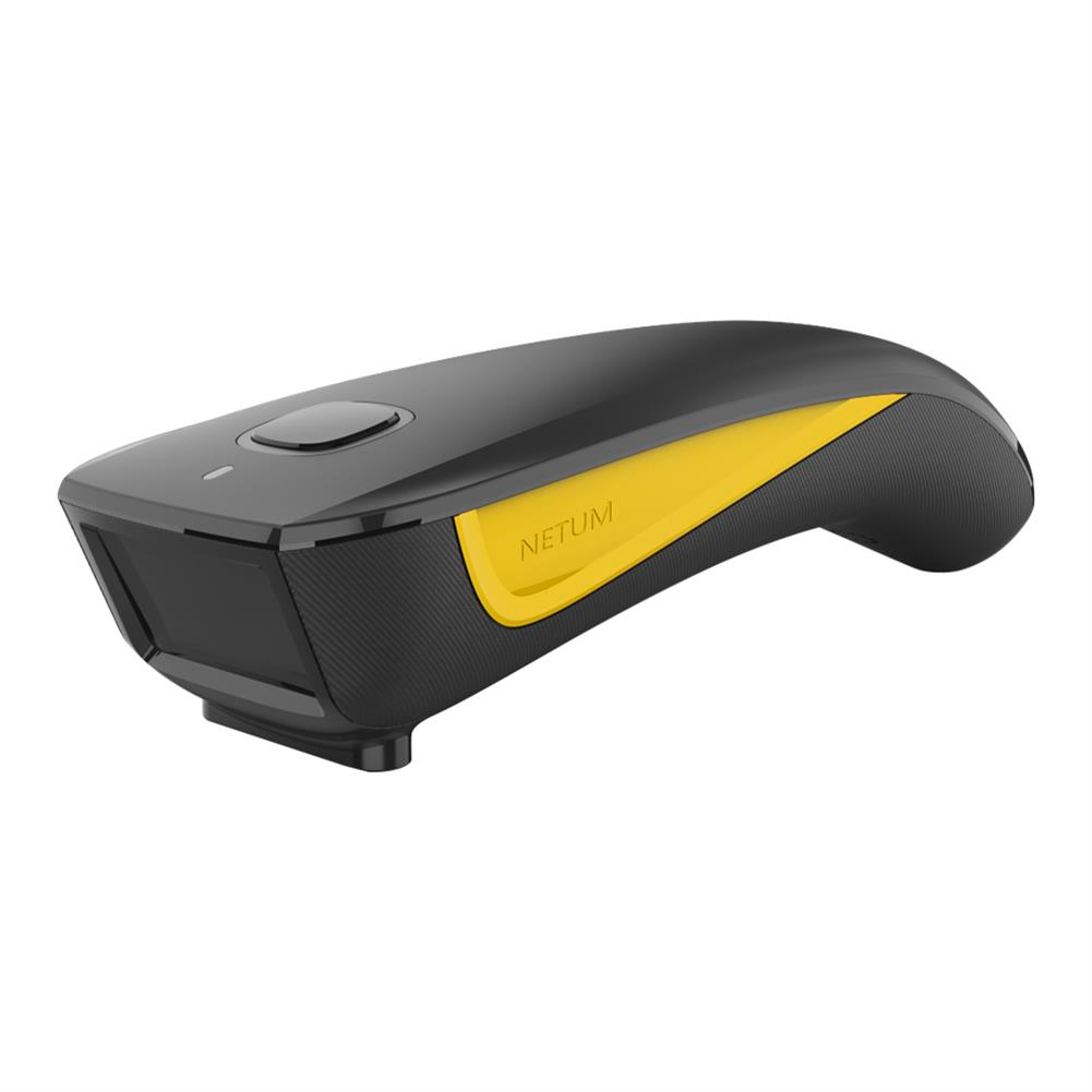 scanners C750 Bluetooth 2-Dimensional Wireless Scanner Black Yellow Portable Code Scanner Warehouse Express Scanning Code Supermarket Supplies HOB1723470 1