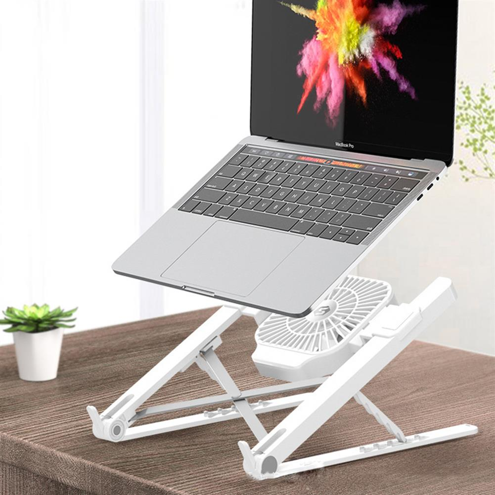 laptop-stands Suohuang SZJ-036S409 Notebook Computer Laptop Stand Cooling Pad 1 Fans USB Adjustable Heightening Shelf Portable Lifting Bracket HOB1723995 1