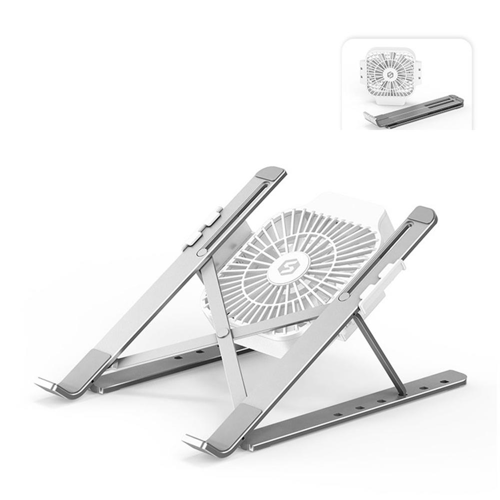 laptop-stands Suohuang SZJF-054S2 Notebook Computer Laptop Stand Cooling Pad 1 Fans USB Adjustable Heightening Shelf Portable Lifting Bracket HOB1724404 1 1