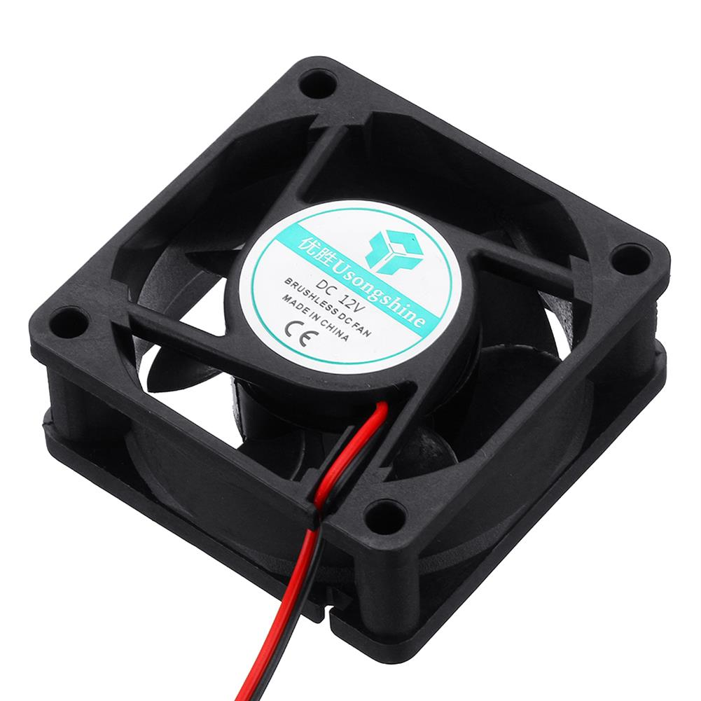 3d-printer-accessories 8Pcs 12v 6025 60*60*25mm Cooling Fan with 2Pin Cable for 3D Printer HOB1724486 3 1