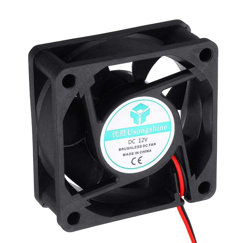 3d-printer-accessories 5Pcs 12v 6025 60*60*25mm Cooling Fan with 2Pin Cable for 3D Printer HOB1724487 2 1