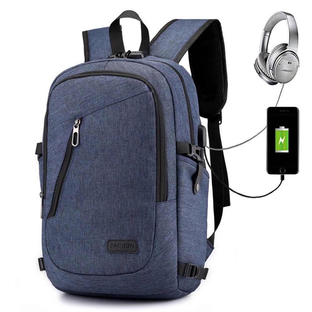 laptop-bags, cases-sleeves USB Charging Backpack Laptop Bag Leisure Business Backpack Multi Function Security Bag for Men/Women Schoolbag HOB1725250 1 1