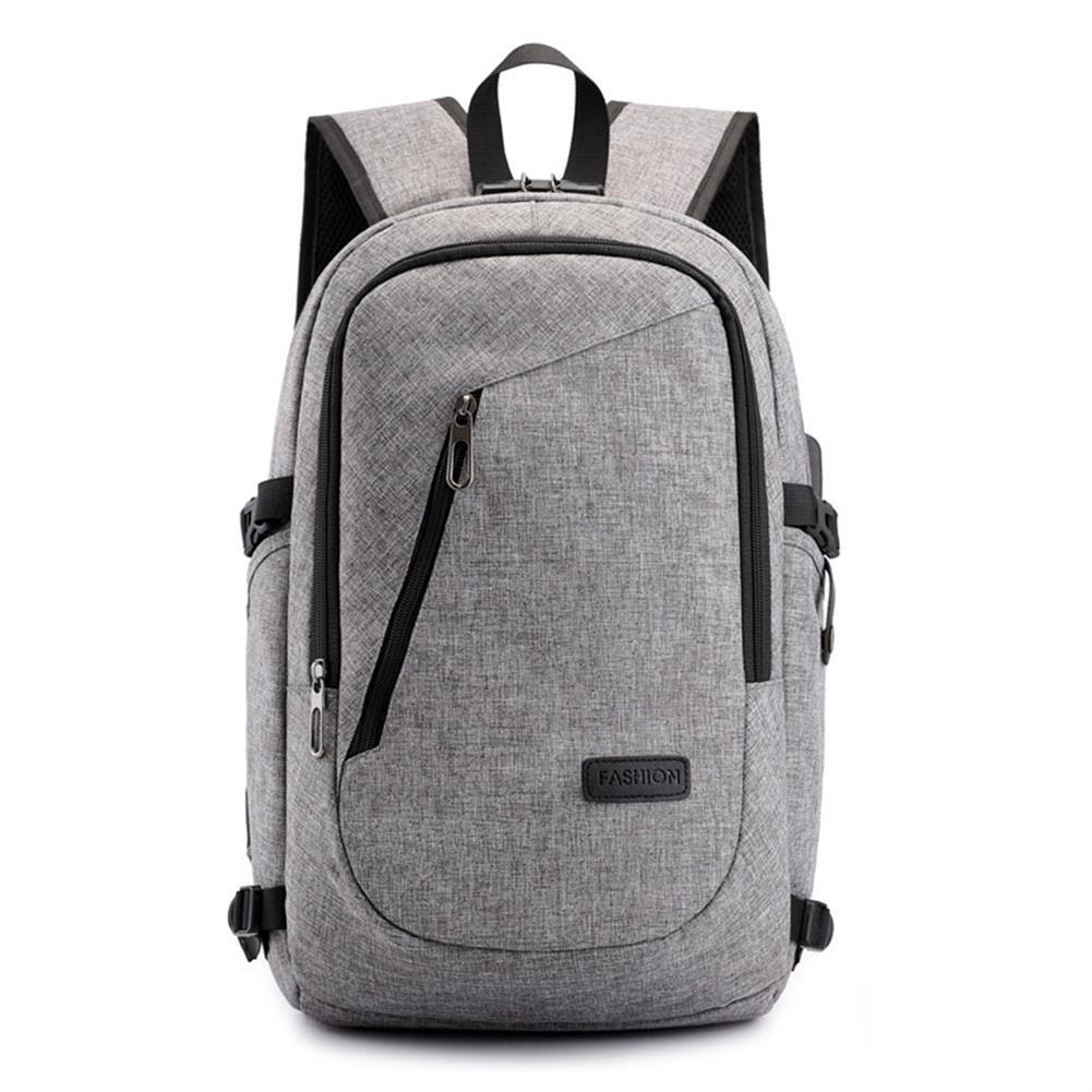 laptop-bags, cases-sleeves USB Charging Backpack Laptop Bag Leisure Business Backpack Multi Function Security Bag for Men/Women Schoolbag HOB1725250 3 1