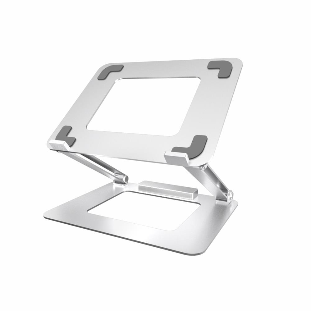 laptop-stands iDock N37-3 Laptop Stand with USB 3.0 interface Portable Bracket Foldable Aluminum Alloy Computer Heat Dissipation Bracket HOB1725642 1