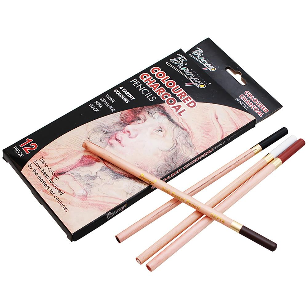 art-kit Bianyo 12Pcs Colored Pencils Painting Set Artist Student Sketch Soft Oil Pastel Set Non-toxic for School Drawing Pens Art Supplies HOB1727397 1 1