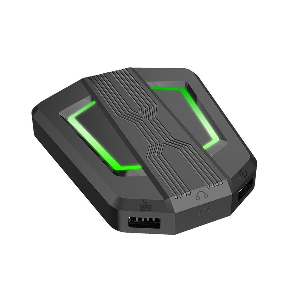 usb-hubs HXSJ P6 Keyboard Mouse Converter 5 Ports USB Hub Keyboard Mouse Adapter for PS4 Xbox 1 Switch Console HOB1727788 1