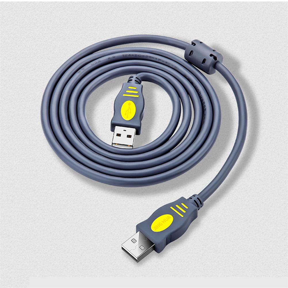 data-cables-connectors JH Double Head USB 2.0 AF Data Cable Male to Male Speed Extension Cable USB Extension Cord for Mobile Phone Computer TV HOB1729428 1 1