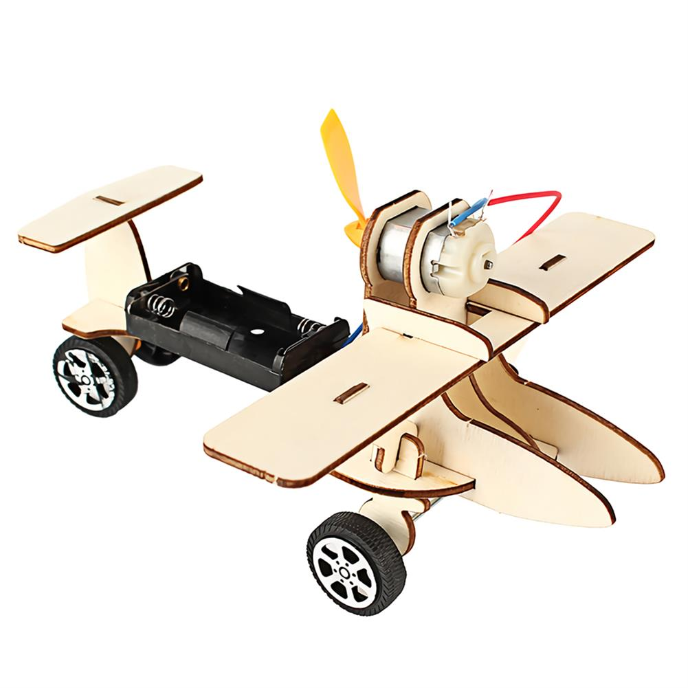 other-learning-office-supplies DIY Electric Taxiing Aircraft Scientific Experimental Technology Children's Toys Small Production invention Materia Stationery Study Supplies HOB1732394 1