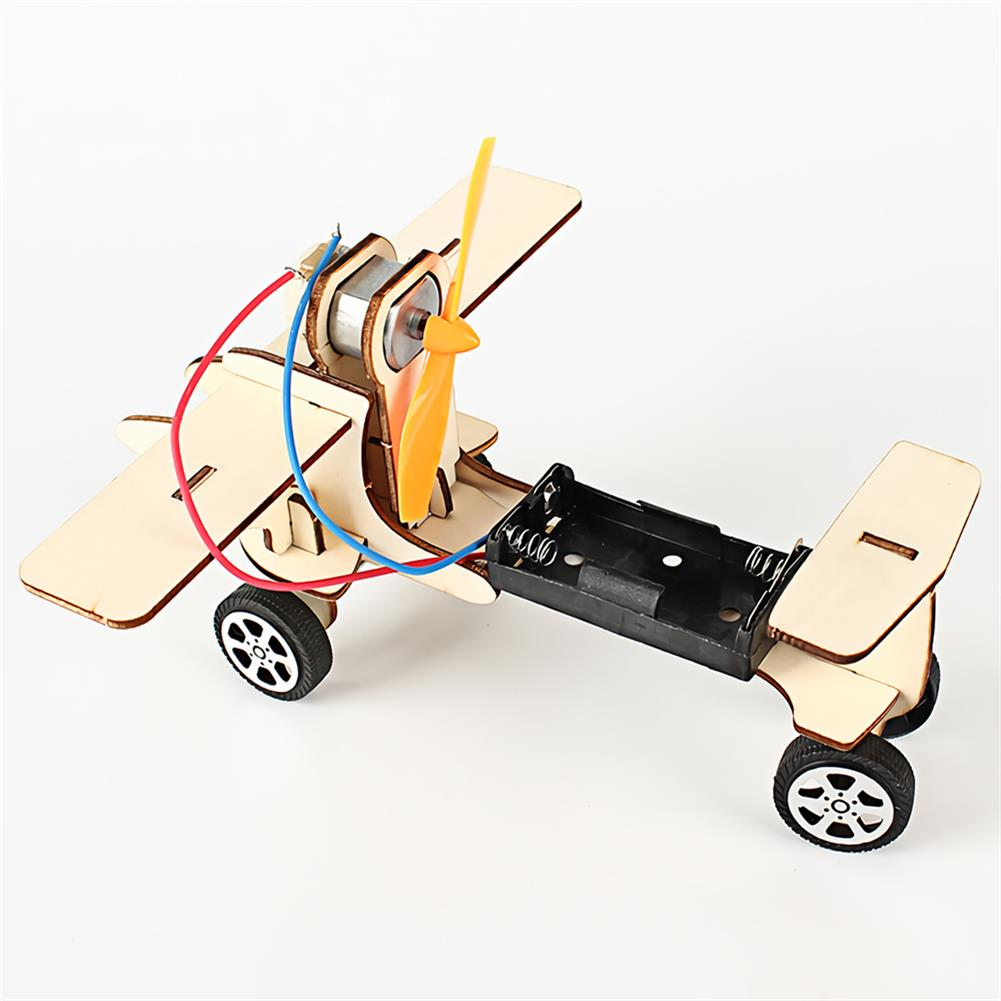 other-learning-office-supplies DIY Electric Taxiing Aircraft Scientific Experimental Technology Children's Toys Small Production invention Materia Stationery Study Supplies HOB1732394 3 1