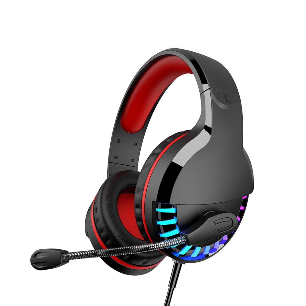 headphones M18 3.5mm+USB Gaming Headsets Multicolor Lighting 50mm Unit Wired Headphone LED Lght intelligent Noise Reduction and Soundproofing, 3d Surround Sound Effect for PC HOB1732538 1