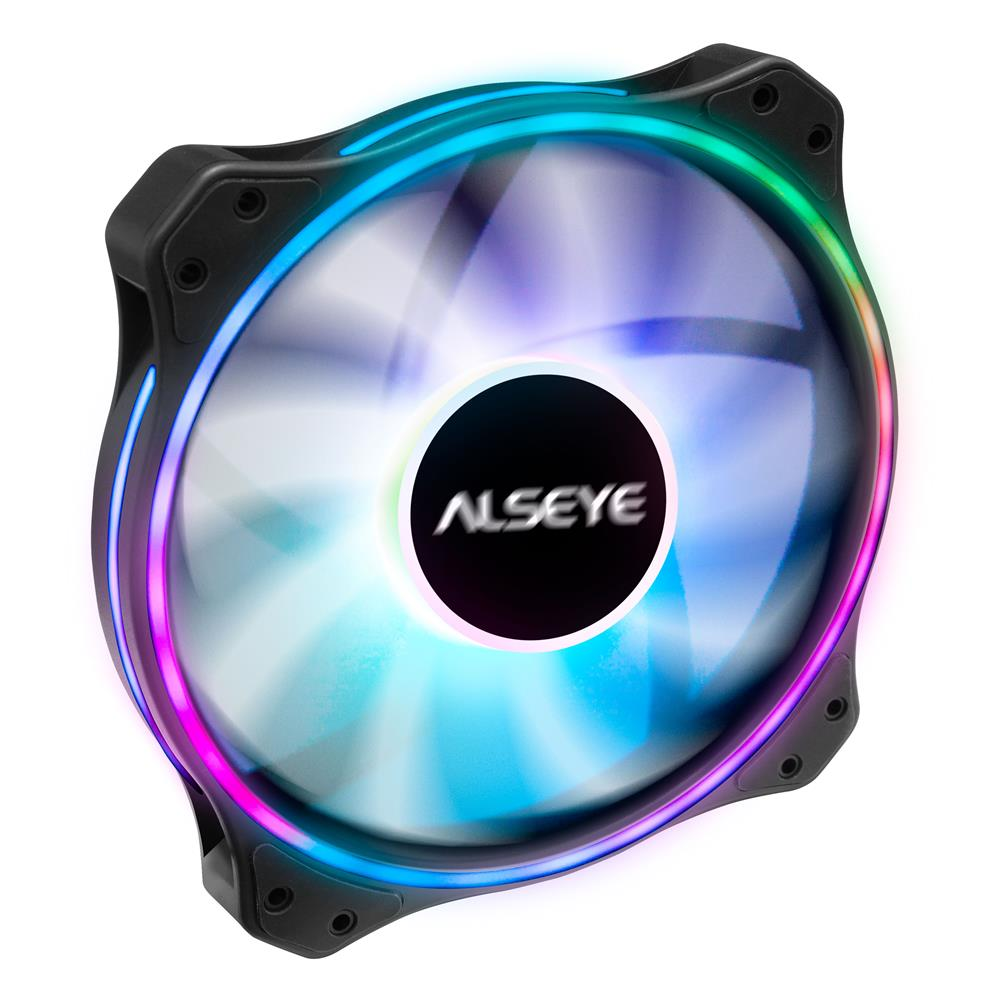 fans-cooling Cooling Fan 200mm ARGB LED Computer Case Molex Connector Remote Control RGB Lighting for ALSEYE AURO Series HOB1733032 1