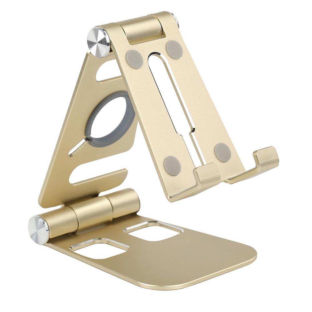 tablet-stands HECH Foldable HW07B-1 Mobile Phone Tablet Stand Holder Aluminum Alloy Charging Base Bracket for Apple Tablet Watch HOB1733104 1 1