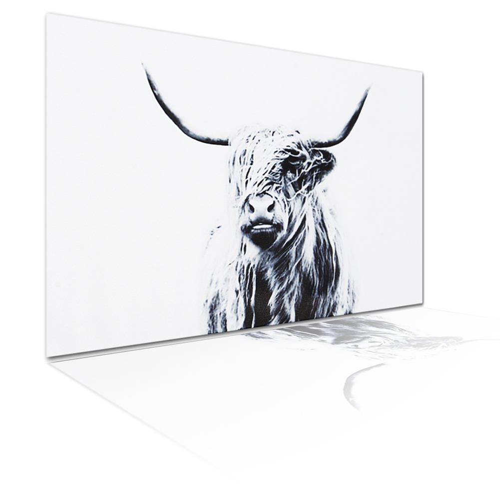 art-kit 1 Piece Highland Cattle Canvas Painting Wall Decorative Print Art Pictures Frameless Wall Hanging Decorations for Home office HOB1733254 1 1