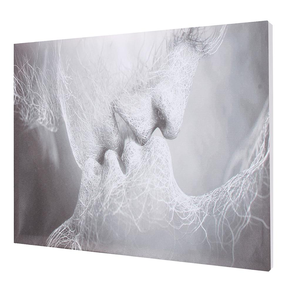 art-kit 1 Piece Love Kiss Abstract Canvas Painting Wall Decorative Print Art Pictures Frameless Wall Hanging Decorations for Home office HOB1733278 1 1