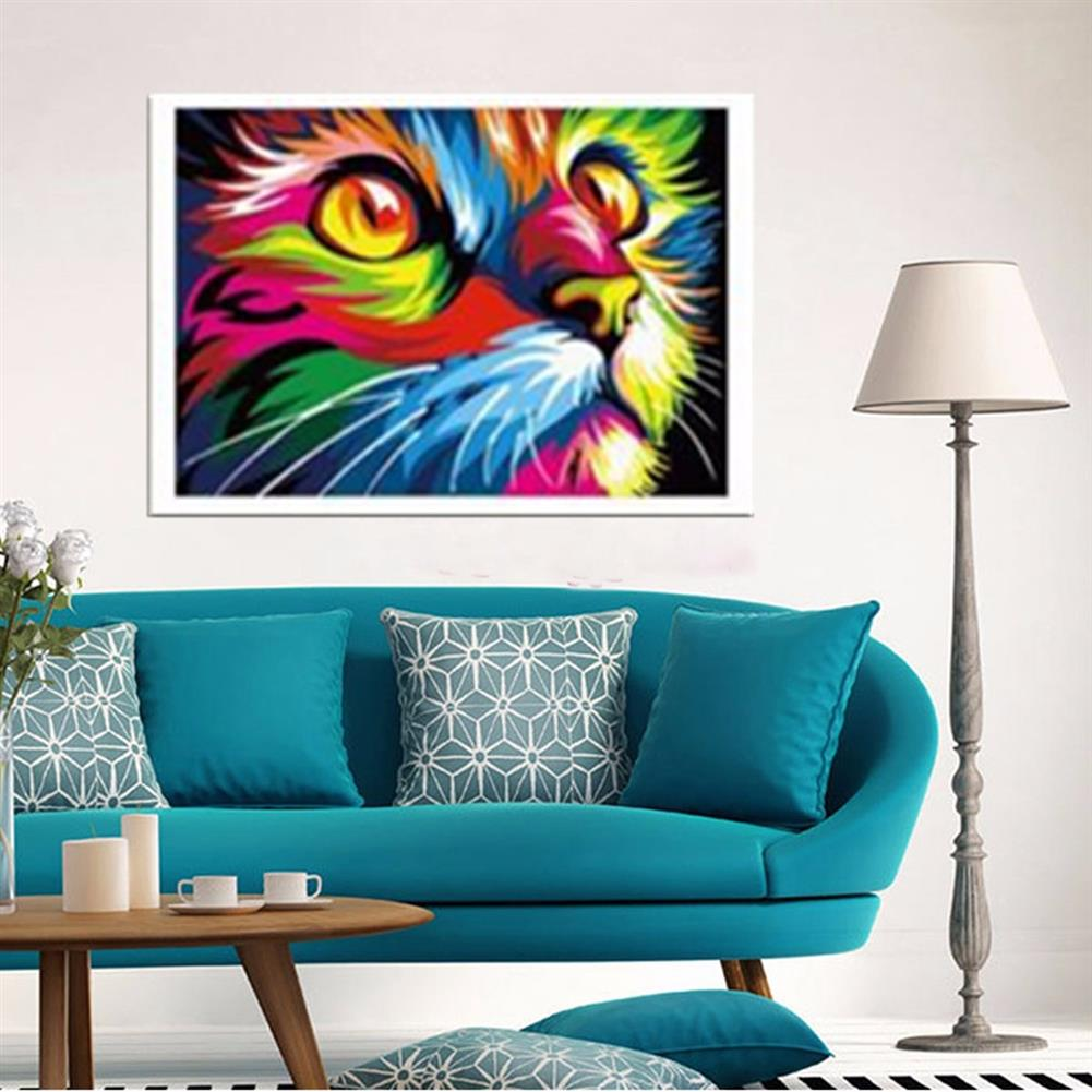 art-kit Multicolor Cat Oil Painting Set By Number Kit DIY Pigment Painting Art Hand Craft Tool HOB1733432 1 1