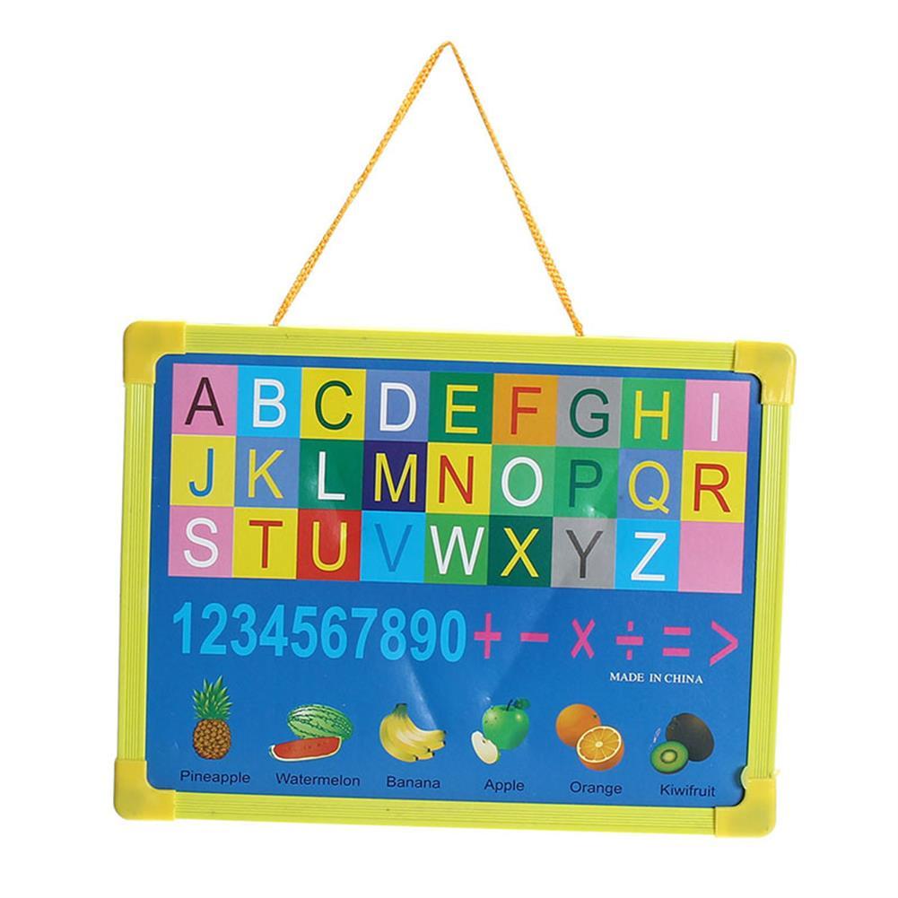 white-wipe-board Mini Writing Board Wipe Board Drawing Graffiti Handwriting Small Hanging Board with Marker Pen for Kids Children HOB1733578 1