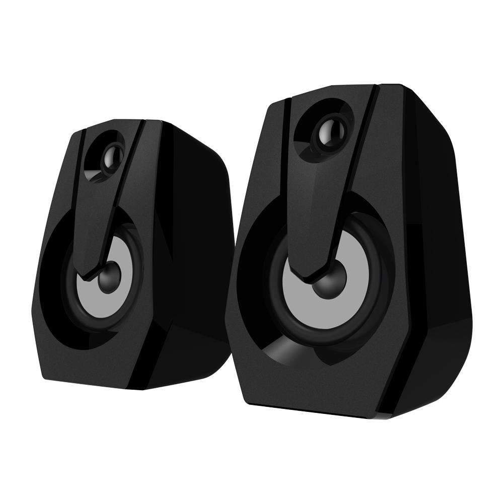 computer-speakers Smalody YXSM9015BL Stereo 2.0 USB Multimedia Speaker with Volume Control Powered by USB Stereo PC Laptop Desktop Speakers Loudspeaker HOB1733784 2 1