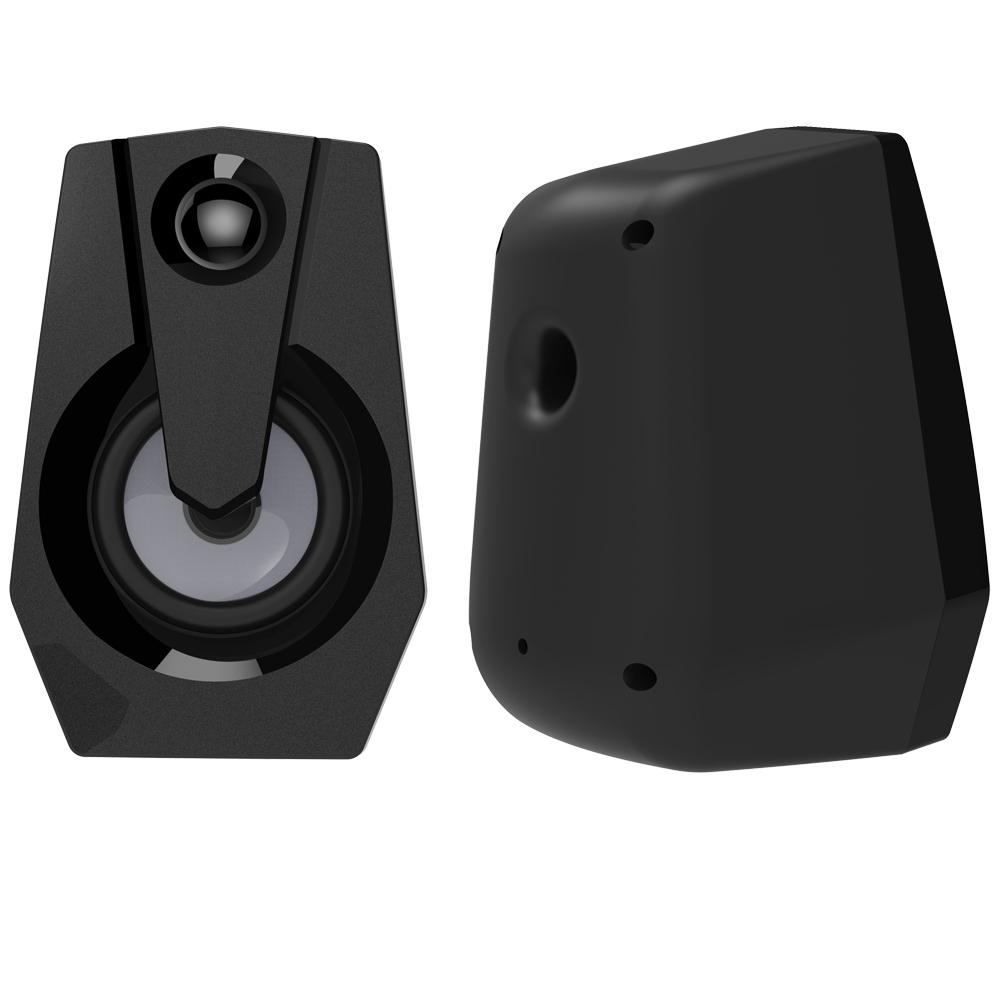 computer-speakers Smalody YXSM9015BL Stereo 2.0 USB Multimedia Speaker with Volume Control Powered by USB Stereo PC Laptop Desktop Speakers Loudspeaker HOB1733784 3 1
