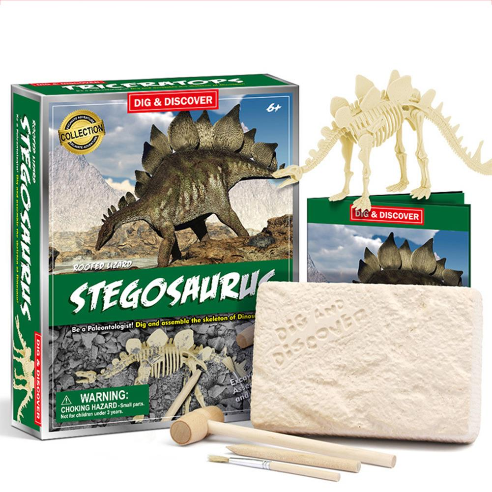 other-learning-office-supplies Dinosaur Puzzle Educational Toys Archaeological Excavation Animal Model Dinosaur Skeleton Toy Puzzle Assembly for Kids HOB1734092 2 1